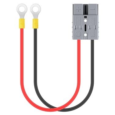 Elektrostapler Ladegerät Ladestecker Leitung mit O-Ring Batterie Schnellanschlussstecker Hochstrom 50A 600V anschließen