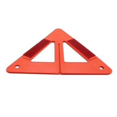 Auto Notfall Verkehrssicherheit Dreieck Warnzeichen Reflektierende Aufschlüsselung
