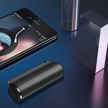 8G 16G 32G Mini tragbarer digitaler Sprachrekorder mit magnetischem Adsorptionskopfhörer zur Rauschunterdrückung für Vorträge, Besprechungen, Interviews, Mini-Audio