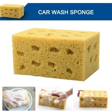 10Pcs Car Cleaning Tools Kit, Car Wash Tools Kit for Detailing Interiors Premium Fiber Cleaning Cloth - Compressed Car Wash Sponge