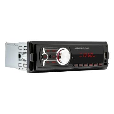 1784E In-Dash Car Radio Detachable Panel Digital BT Audio Music Stereo MP3 Player