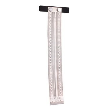Precision Marking Ruler T-type Hole Ruler Stainless Woodworking Mark Line Gauge Measuring Tool