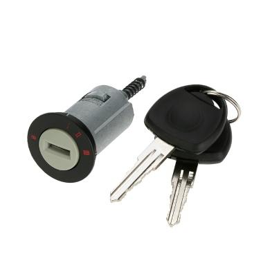 Car Ignition Lock Barrel with 2 Keys for VAUXHALL ASTRA CORSA ZAFIRA MERIVA TIGRA COMBO