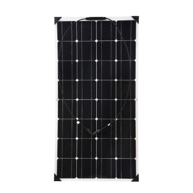 Flexible Solar Panels 18V 100W High Qulity Car Solar Panel China With Junction Box Waterproof IP65 For RV