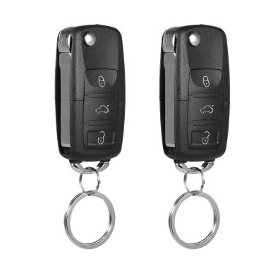 Universal Autotürschloss Keyless Entry System Zentralverriegelung mit Kofferraumentriegelungsknopf