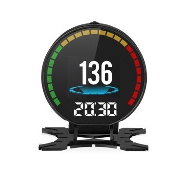 Head-Up Display Speed Temperature Voltage Single Range Display Car HUD