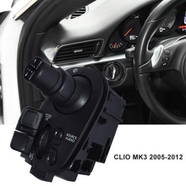 Wischerfunkschalterhebel Lenksäulenhebel Kompatibel mit Renault Clio MK3 2005-2012