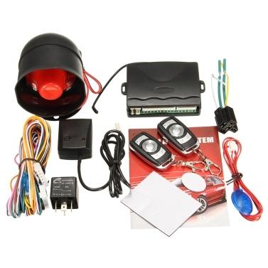 12V Universal Automobile Single Direction Anti-Theft Equipment Remote Control Vibration Alarm