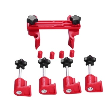 Universal 5Pcs Car Dual Cam Clamp, Cam Camshaft Engine Timing Locking Tool Set Cam Gear Clamp and Holder Set