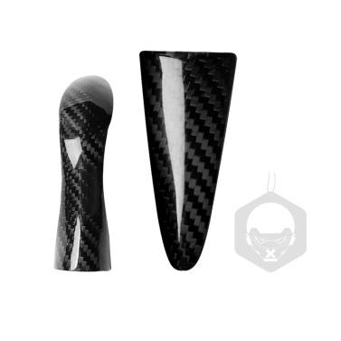 Carbon Fiber Gear Handle Stickers Replacement For Infiniti Q50 Q60 QX50 QX60 Accessories