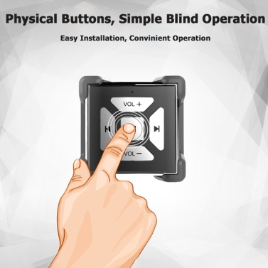 Portable BT Button Multimedia Wireless Remote Controller Control Cell Phone