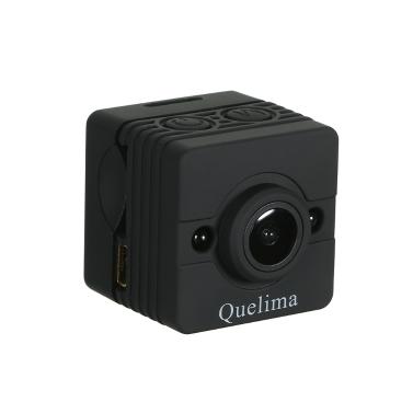 47% OFF Quelima SQ12 Mini Camera Night Vision Dash 155 Degrees FHD 1080P,limited offer $15.49