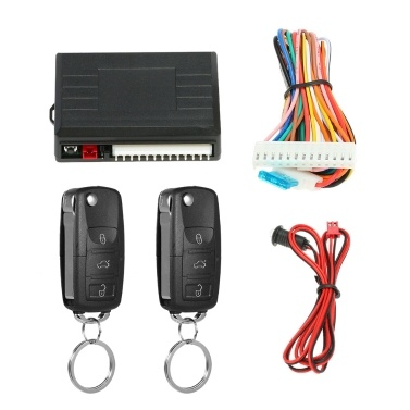 Universal Car Door Lock Trunk Release Keyless Entry System Central Locking Kit Remote Control