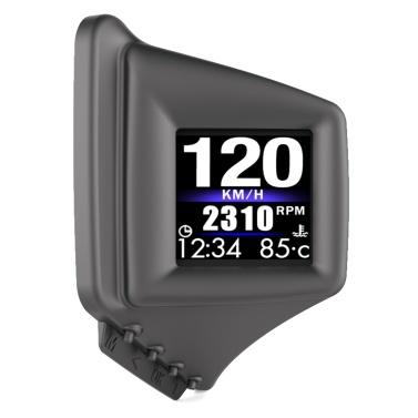 Car HUD Display OBD+GPS Smart Gauge High Definition Speedometer Car Diagnostic Tool