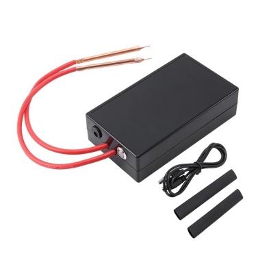 Handheld DIY Spot Welding Tool,USB Recharge Mini Spot Welding Machine for 18650 Battery,6 Gear Adjustable Portable Welding Machine