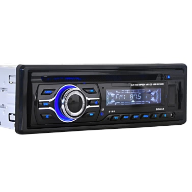 Universal Car CD DVD-MP3-Player Stereo-Radio-Player mit In-Dash FM Aux-Eingang SD / USB-Anschluss