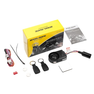 Steelmate SKM21 Motorcycle Alarm System Remote Engine Start Transmitter Immobilizer Anti Theft Security System