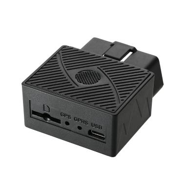 OBD GPS Tracker Auto Mini GSM OBDII Fahrzeug Tracking Device System Plug & Play mit Software & APP