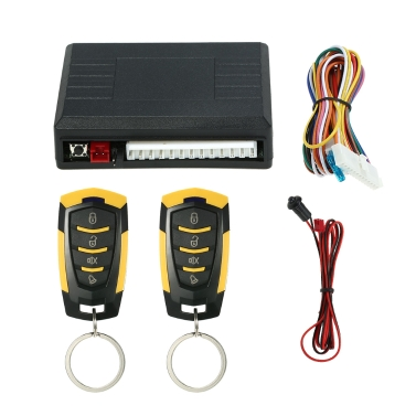 Universal Car Door Lock Keyless Entry Trunk Release Button Remote Central Locking Kit