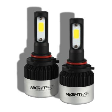 Nighteye 72W 9000lm 9005 Lichtscheinwerfer Nebelscheinwerfer Lampe weiß