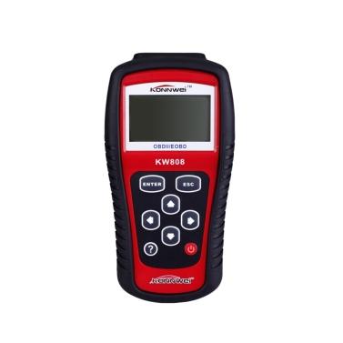 MaxiScan KW808  OBDII EOBD scanner car code reader tester diagnostic