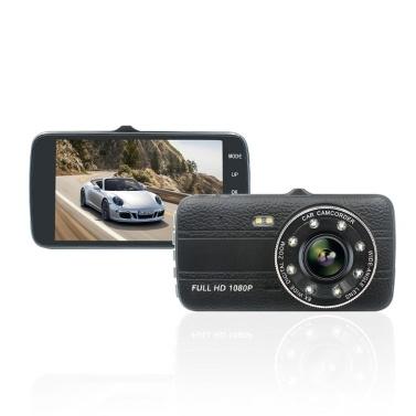 4,0 Zoll IPS-Bildschirm Auto DVR 1080P Doppelobjektiv-Auto-Kamera