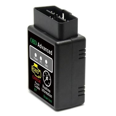 V02H2-1 V2.1 BT 2.0 Interface OBDII Car Scanner Reader Reader Tool para Android