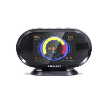 KONNWEI HUD 3,5 Zoll Hud Head Up Display Auto Tachometer OBDII Smart Digital Trip