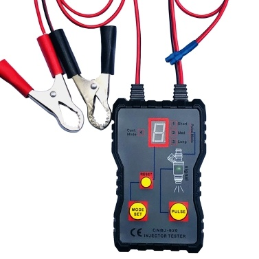 Auto Fuel Injector Tester 12 V 4 Pulsmodi Auto Fahrzeug Kraftstoffdrucksystem Diagnosescan Testwerkzeug Reinigungswerkzeugsatz