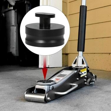 Kkmoonaluminium jacking lift pad jack pads lift pucks jack pucks für corvette c5 c6 z06 (schwarz) 4 stück