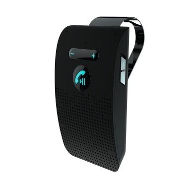 Drahtlose Freisprecheinrichtung für das Auto BT V5.0 BT Drahtlose Freisprecheinrichtung für den BT-Lautsprecher Sun Visor Clip Speakerphone