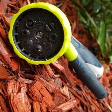 Gartenschlauchdüse - Wasserschlauch-Sprühdüse Hochleistungs - 8 Muster Hochdruck-Gartenschlauchdüsen - Am besten für Bewässerungsanlagen, Rasenflächen im Freien - Autowaschen und Duschen von Haustieren