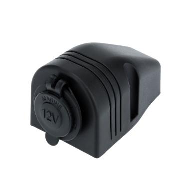 KKmoon Car Cigarette Lighter Power Socket Splitter Power Charger Adapter 12-24V