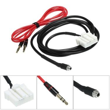 AUX Audio Kabel Buchse Adapter Radio Stereo Kit für Mazda 2 3 5 6
