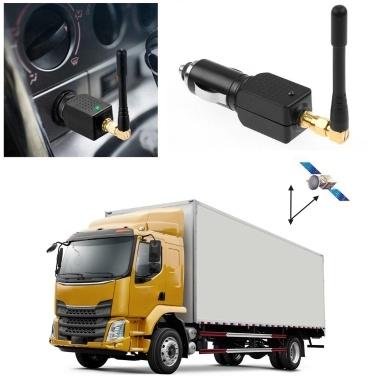 Coche Bloqueador GPS Bloqueador de seguimiento de señal Camión Encendedor de cigarrillos Fuente de alimentación DC36V