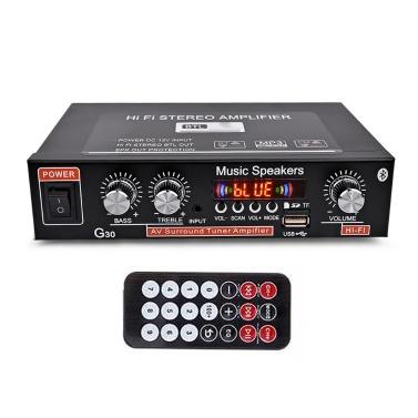 Household G30 Power Amplifier Mini BT Digital Audio Player Hi-Fi Stereo Portable Audio Amplifier