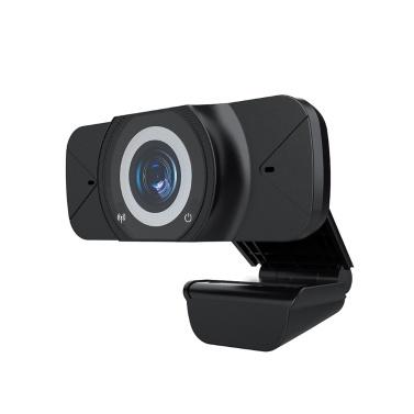 Широкоугольная веб-камера Full HD 1080P с большим обзором для видеоконференций