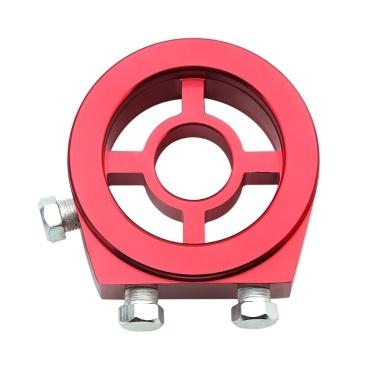 Universal Car Oil Filter Cooler Sandwich Plate Adapter for Oil Temperature & Oil Pressure