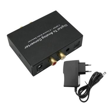 Digital to Analog Audio Converter Audio Switch Box