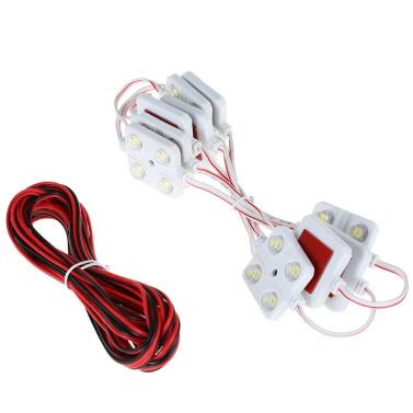 24% de réduction pour Kit de 12V 40 LEDs Intérieur de Voiture Blanche Imperméable € 8.16