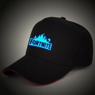 Game Fortress Night Cap Men and Women Duck Tongue Baseball Hat Night Light Trend