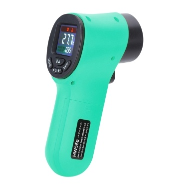 Non-contact Surface Industrial Temperature Tester  Infrared Digital C/F Selection LCD Display Imager pyrometer Test-tool