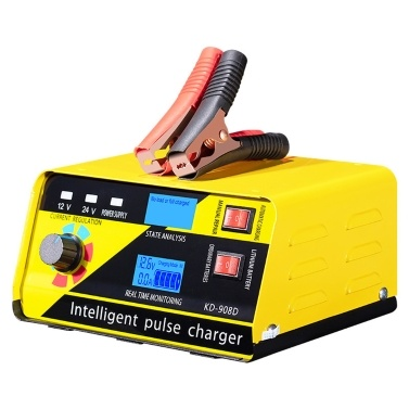 High Power Car Battery Recharger Machine Automatic Intelligent Repairing Type Battery Charge Tool