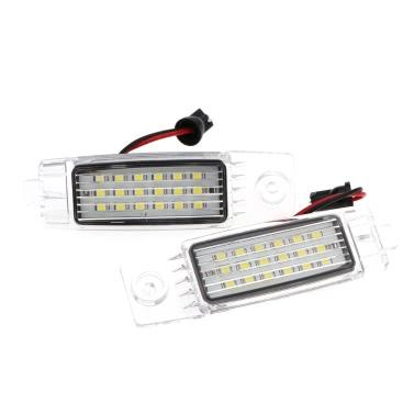 Paar Fehlerfrei 18 3528 SMD LED Nummernschild Lampe Licht für Toyota Hiace Regiusace Vanguard