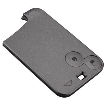 KKmoon 2 Taste Auto Remote Schlüssel Gehäuse Ersatz Card Schale für Renault Laguna Espace