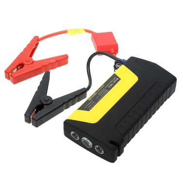 16800mAh Multi-Funktions Portable Mini Car Jump Starter mit Auto Air Compressor Toolbox Notfall Netzteil für Handy Laptop-Kamera Outdoor Reisen Camping