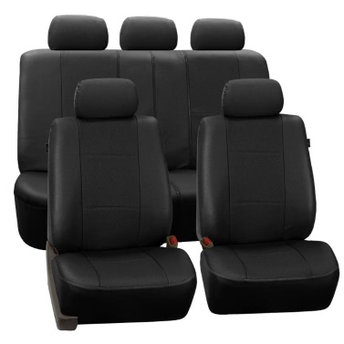 tirol new universal car seat covers pu leather 11pcs set front rear cover set for crossovers suv. Black Bedroom Furniture Sets. Home Design Ideas