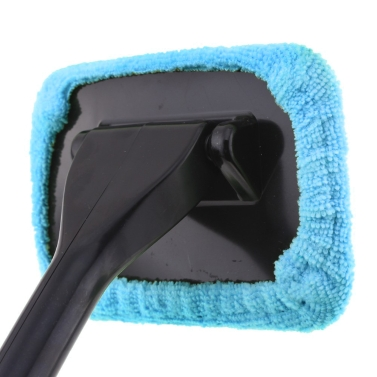 KKmoon New Microfiber Auto Window Cleaner Windshield Fast Easy Shine Brush Handy Washable Cleaning Tool
