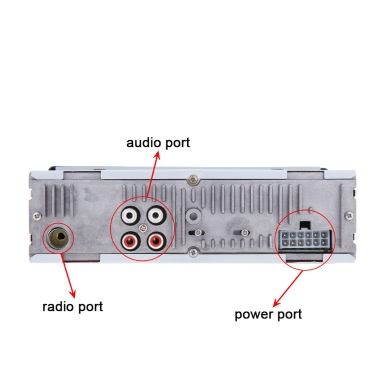 Car Stereo Radio Audio MP3 Player Receiver