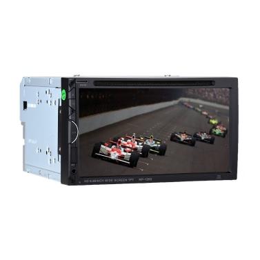 7 Zoll Universal 2 Din Auto DVD / USB / SD Spieler HD Schöne UI Multimedia BT Radio Unterhaltung